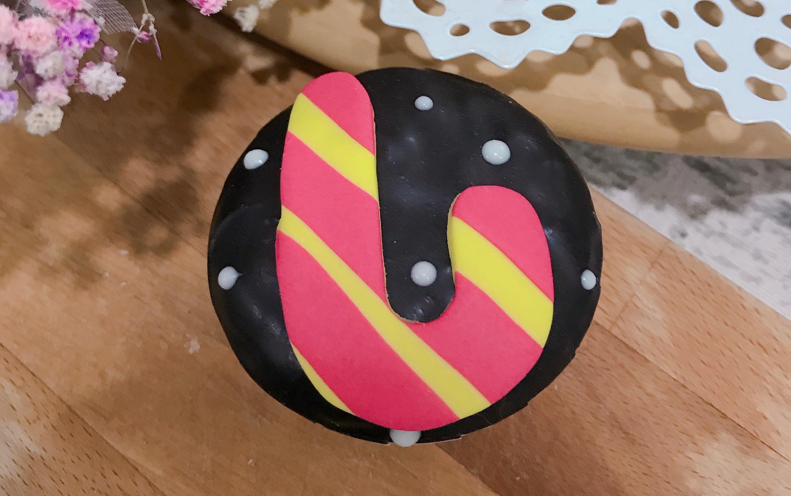 聖誕節 造型杯子蛋糕~~迷妳款~~拐杖造型10入一組