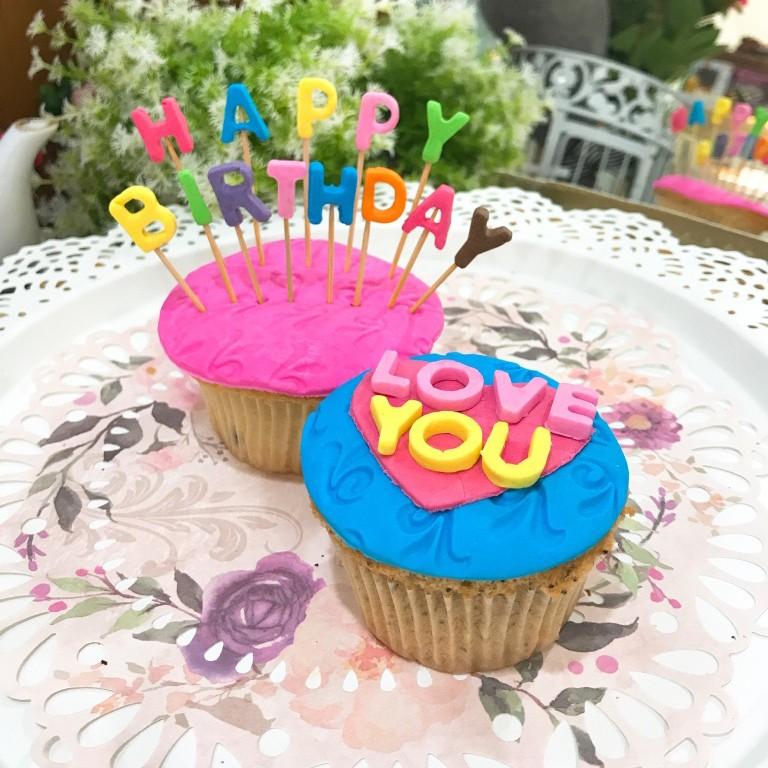 生日插旗 組合蛋糕 2入