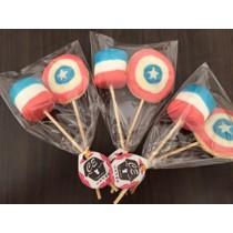 美國隊長 棉花糖餅乾組 10組