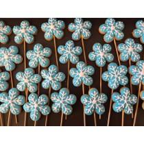 雪花 糖霜餅乾 10個