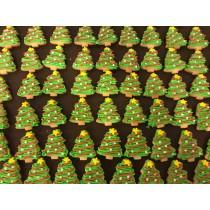 小聖誕樹 糖霜餅乾 20個