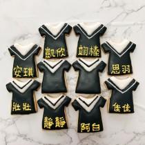 畢業服 糖霜餅乾 一組5片
