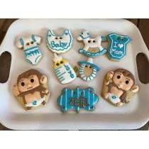 猴子組 收涎糖霜餅乾
