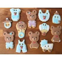 熊熊睡衣  收涎禮盒 12片組
